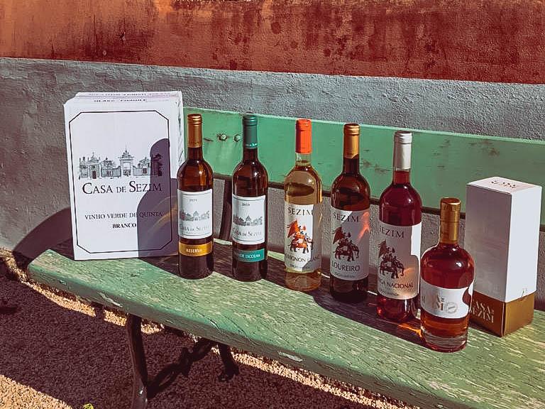 Seleção de Vinhos Casa de Sezim
